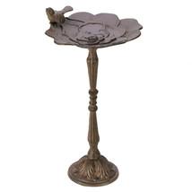 Rustic Iron Birdbath 10001319 - $48.28