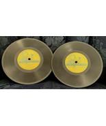 """Tops For Tots Records (2) 7"""" VX-603 & VX-604 Santa's Toy Shop, Rudolph +... - $3.91"""