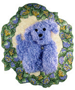 Purple Pooch: Quilted Art Wall Hanging - $255.00