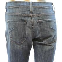 James Jeans Womens Dry Aged Denim Stretch Jeans Medium Wash Blue Boot Cu... - $23.33