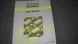 2005 TOYOTA ECHO Electrical Wiring Diagram Service Manual EWD 2005 - $9.89