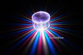 Set of 2 LiteRays LED Light Up Projection LitePod Drink Accessory- Stripes - $14.50