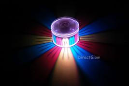 Set of 2 LiteRays LED Light Up Projection LitePod Drink Accessory- Ribbon - $14.50