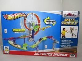 Hot Wheels Wall Tracks Starter Set Auto Motion Speedway Mattel 2012 NEW!!! - $130.55