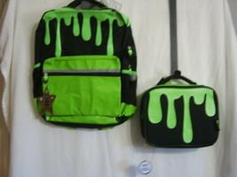 NICKELODEEN SLIME BACKPACK & LUNCH BAG COMBO NWT:B19-5 - $30.00