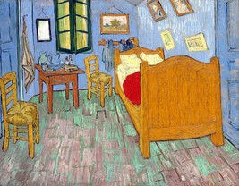 The Bedroom Painting by Vincent van Gogh Art Reproduction - $32.99+