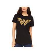wonder woman t shirt, superhero gold glitter logo tee shirt, mother's da... - $19.79+