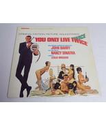 You Only Live Twice James Bond ORIGINAL Vintage 1967 Vinyl LP Record Album - $46.53