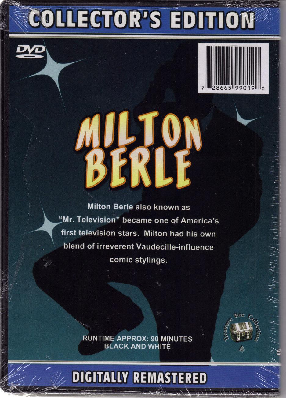 MILTON BERLE DVD Collectors Edition