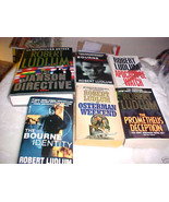 1 HARDBACK BOOK AND 5 SOFT COVER BOOKS BY ROBERT LUDRUM - $29.99