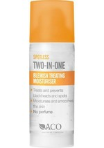 ACO Spotless Treating Moisturizer 50ml/1.7oz | Prevents Pimples & Blackheads - $13.90