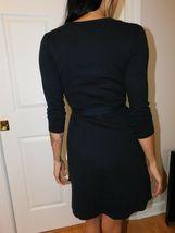 AMERICAN APPAREL Women's Black Wrap Dress Size US XS image 5
