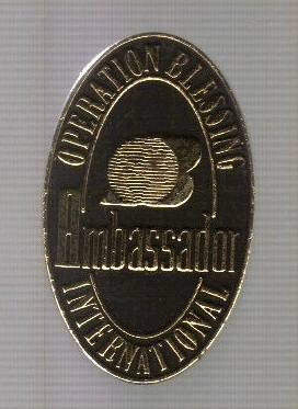 Primary image for Operation Blessing International Ambassador Pin!
