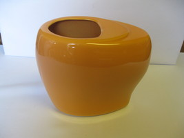 Vintage Haeger Pottery #4317 Orange Oblong 7 7/... - $44.99