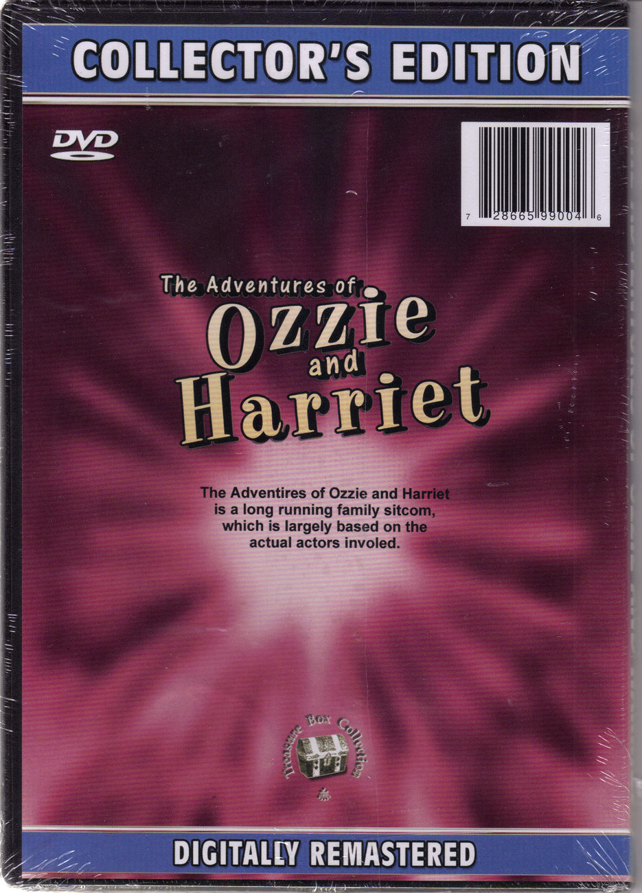 OZZIE and HARRIET DVD Collector's Edition