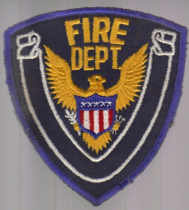 Primary image for Fire Department Iron-on Patch!