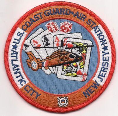 Primary image for USCG Coast Guard Station New Jersey Atlantic City Patch