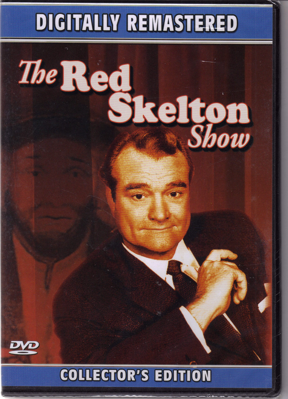 Dvd red skeleton