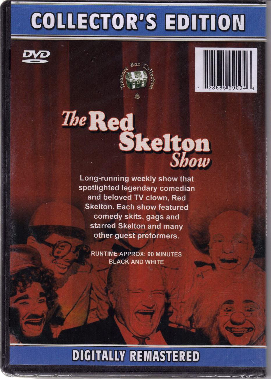 THE RED SKELTON SHOW on DVD Collector's Edition