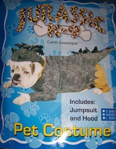 Jurassic Dinosaur Dog Costume SZ Medium NEW Pet Costume