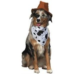 Wild Wild West Cowboy Dog Costume SZ SM NEW Cowboy Hat