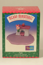 Hallmark Merry Miniatures Piglet with Fireplace 1 from a Set of 4 - $10.00