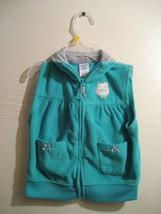 CARTERS girls zippered sleeveless top, size 24 months - $10.39