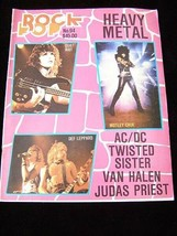 Rock Pop #46 January 1982 Robert Plant The Police Deep Purple Gene Simmo... - $12.99