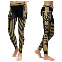 LAS VEGAS GOLDEN KNIGHTS Leggings  - Higher Quality -  NHL Fan Gear Gift... - $35.00