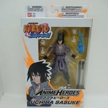 "Naruto Shippuden 6"" Action Figure Sasuke Bandai anime heroes - $33.24"