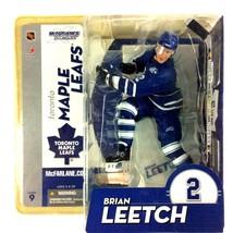 Brian Leetch 2004 McFarlane Toys Sportspicks NHL Series 9 Toronto Maple ... - $14.80