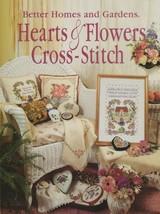 "Soft Covered Book - ""Hearts & Flowers Cross-Stitch"" - Better Homes & Gar... - $18.00"
