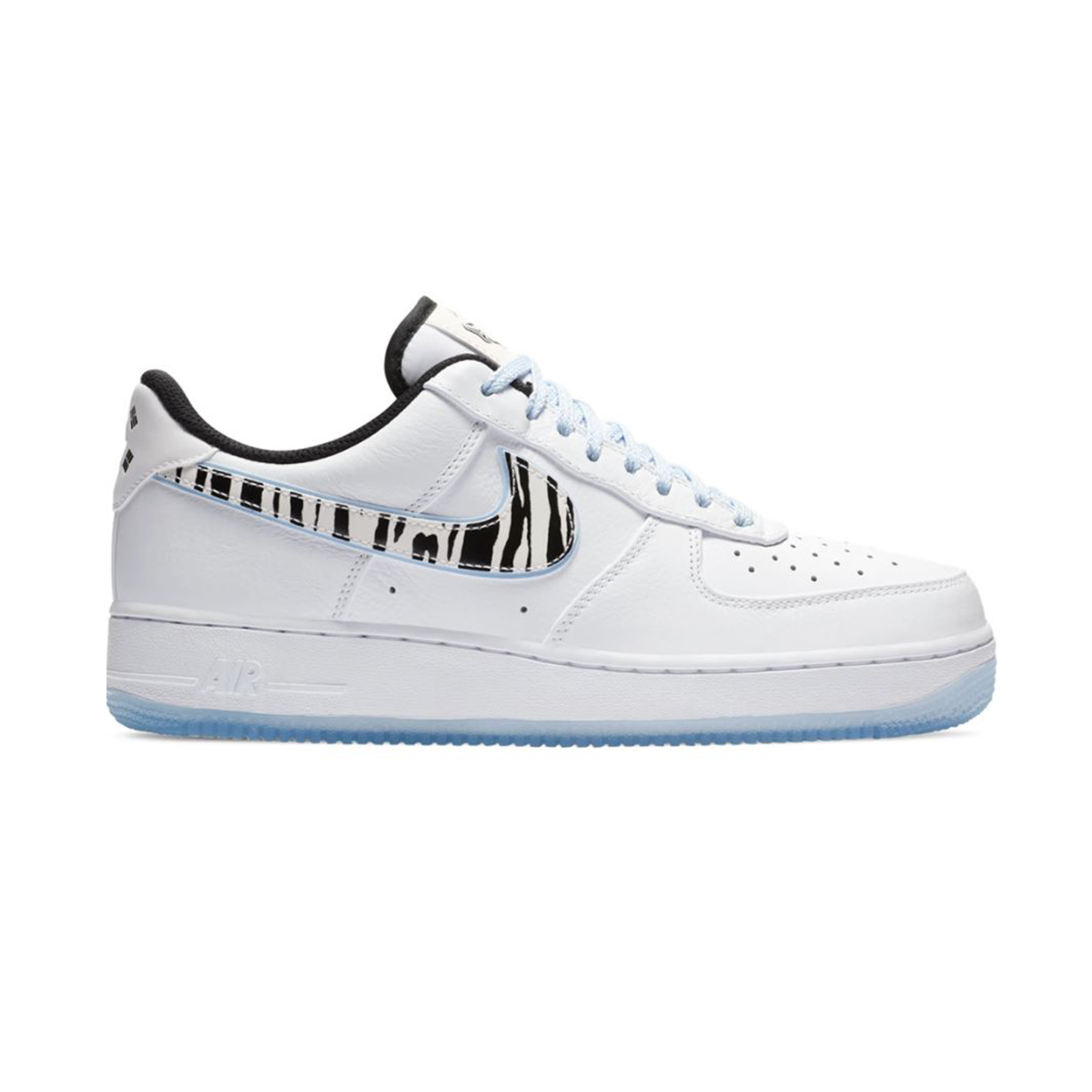 Primary image for Nike Air Force 1 '07 Low (South Korea/ White/ Blue/ Pink/ Black) Men US 8-13
