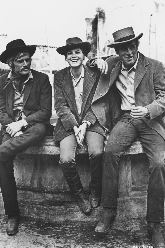 Primary image for Butch Cassidy and The Sundance Kid Cast 18x24 Poster