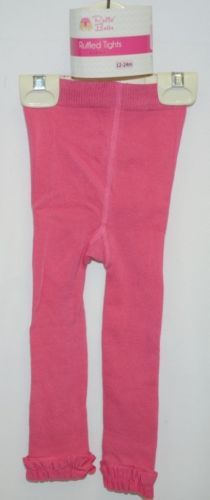 RuffleButts RLKCA120000 Candy Footless Ruffle Tights Size 12 to 24 Months