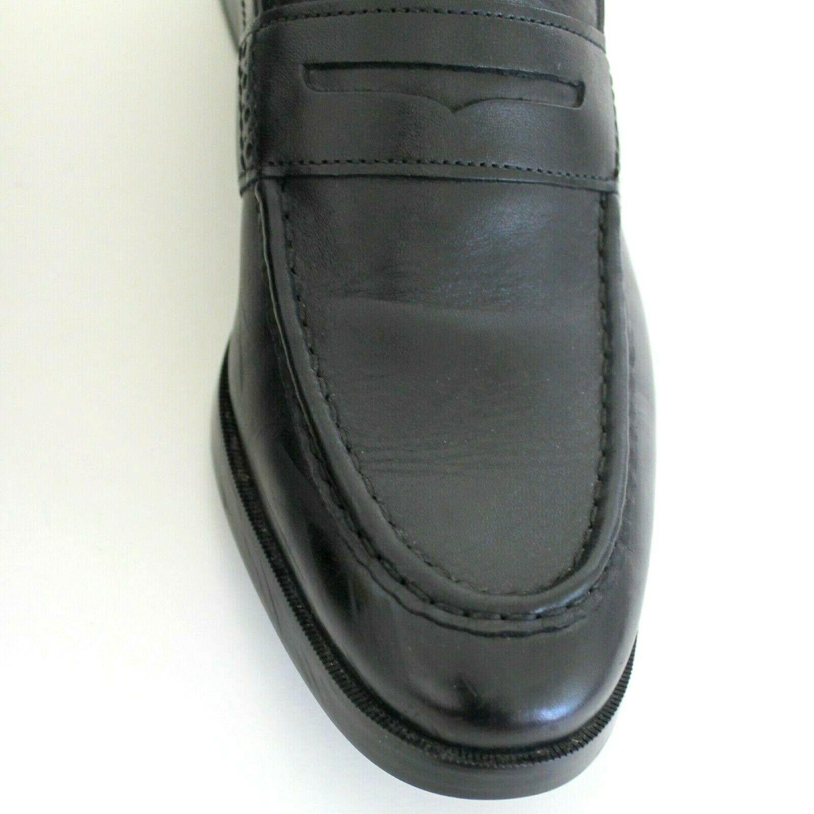 Cole Haan Grand OS Jefferson Noir Mocassins Chaussure à Enfiler 9.5 Rembourré