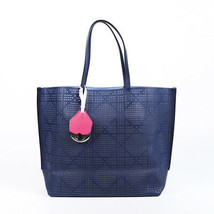 Christian Dior Dioriva Perforated Cannage Tote Bag - $805.00