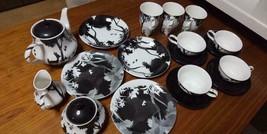 Snow White Seven Dwarfs Bambi Tea pot & Mug cup & Cake dish & Saucer Fam... - $230.67