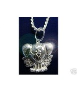 NICE Guardian Angel Dog Puppy pendant charm Silver Jewelry - $24.66