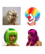 Kostüm verschiedene Farben Halloween Cosplay Clownperücke Haare Verkleidung - €6,03 EUR