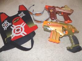 Set of (2) Lazer Tag Guns w/Glasses & Vest - $19.79