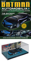 Automobilia #43 DC The Batman Animated Series Batmobile Eaglemoss w/ Mag... - $35.63
