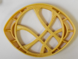 Dr Strange Eye Agamotto Marvel Movie Comics Cookie Cutter 3D Printed USA PR768 - $2.99