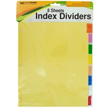 Index Dividers With Multicolor Tabs HX146 - $59.05