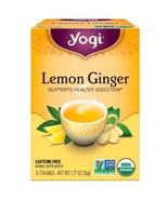 Yogi Tea, Lemon Ginger, Caffeine Free, 16 Tea Bags, 1.27 oz (36 g) - $4.00