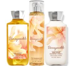 Bath & Body Works Honeysuckle Trio Gift Set - $45.95
