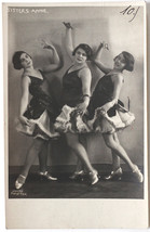 VINT.1920s music hall, cabaret dancers SISTERS ANNIE - $13.95