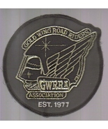 Gold Wing Road Riders GWRRA Association Iron-on Patch! - $14.95