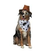 Wild Wild West Cowboy Dog Costume SZ SM NEW Cowboy Hat - $8.50