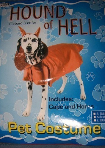 Hound of Hell Dog Costume SZ SM Hell Hound NEW Pet